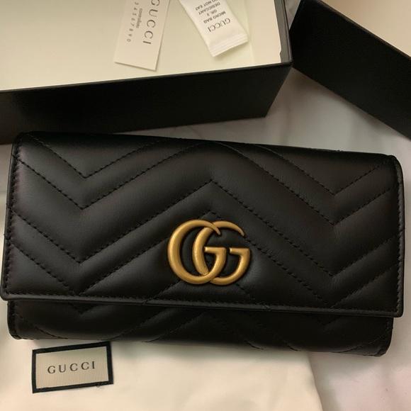 8f5fb89002564a Gucci Bags | Marmont Continental Wallet | Poshmark